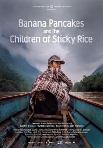 Banana pancakes - poster